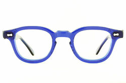 VTG 80's NOS Shady Character James Dean Eyeglass Frames in Electric Blue by Tart