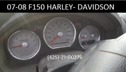 2007-2008 Ford F150 Harley-davidson Instrument Cluster Speedometer Oe Mph Rare