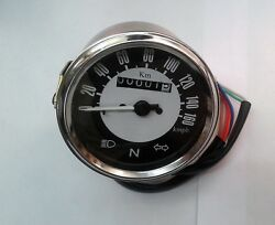 Royal Enfield Speedometer From 0-160 Kmph -black Dial