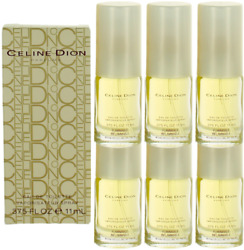 Celine Dion By Celine Dion For Women Combo Pack Mini Edt Perfume 6x0.375oz