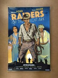 Jack Durieux Raiders of the Lost Ark screen print Indiana Jones Spielberg poster