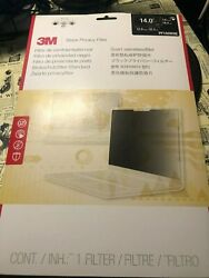 NEW 3M Touch Compatible Black Privacy Filter 14