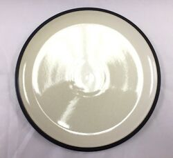 Denby Energy Dinner Plate - Charcoal/white - Brand New - Discontinued Item