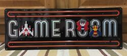 Game Room Namco Arcade Console Nintendo Vintage Style Home Theater Pac Man