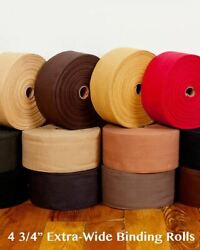 4 3/4 High End Cotton Canvas Binding Tape For Rug Carpets