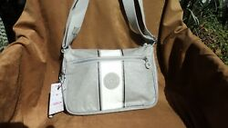 Kipling New Puppy Pearl  Ash Grey Shoulder Handbag $64.10