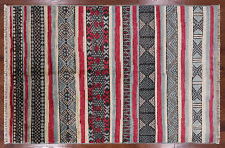 Hand-knotted Southwest Moroccan Wool Rug 5and039 3 X 7and039 10 - Mc385