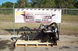 Skid Steer Trencher by Bradco625 Digs 36