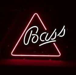 New Bass Ale Beer Neon Light Sign 20x16
