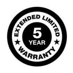 Generac 5-year Extended Limited Warranty - Liquid-cooled 70kw-150kw