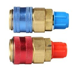 A/c R134a Automotive Car Air Conditioning High And Low Quick Connector Coupler Us