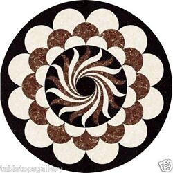 2and039x2and039 Marble Coffee Table Top Mosaic Handmade Inlay Interior Living Decors H1625