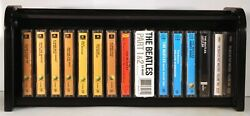 The Beatles Collection – 16 New/sealed Cassettes In Wooden Roll Top Box Set Lot
