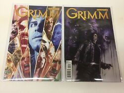Grimm 1-2 Dynamite/early Lucio Parilla/tv Show/0617333 Complete Set Lot Of 2