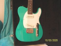 2016 Gandl Asat Belair Green Electric Guitar In Very Nice Condition