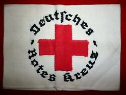 Third Reich Deutsches Rotes Kreuze Armband Red Cross Combat Medic Germany Ww2
