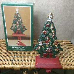 Midwest Of Cannon Falls Cast Iron Holiday Tree Angel Christmas Stocking Hanger