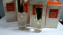 Jovan White Musk By Coty Vintage Cologne Spray 6 Total Bottles New Old Stock