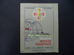 Portuguese Ctt Stamps Savings Account - 42 Stamps - Complete Collection -1960's