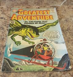 Dc National Comics My Greatest Adventure The Creature That Invaded My Mind 1961