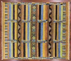 Tribal Moroccan Hand Knotted Rug 8' 4 X 9' 8- P6203