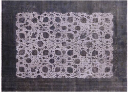 Overdyed Hand Knotted Wool Area Rug 9and039 10 X 12and039 8 - H9609