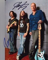 Winery Dogs Kotzen Portnoy And Sheehan Autographed 8x10 2 Free Shipping