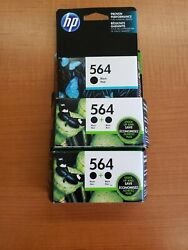 Hp 564, 933, 60xl, And 17 Ink Cartridges - Black, Blue, Yellow, Magenta, Tri-color