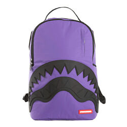 Brand New SPRAYGROUND 3M Purple Rubber Shark Deluxe Bag Backpack $49.99