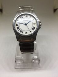 Watch Santos Ronde Swiss Made Stainless Steel 1920-1 Free Shipping