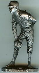 1979 Sandy Koufax Metallic Creations Signature Miniatures Pewter Statues And Card
