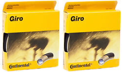 New - 2 Pack - Continental Giro Tubular Tire 28and039and039 X 22 Mm
