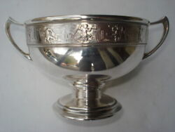 Gorham And Co. Sterling Loving Cup - Putti Freeze - Union Square N.y. Mark- 1876
