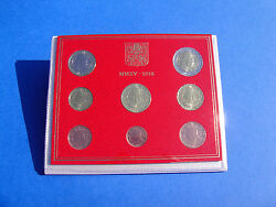 Official Rare Vatican Set Of 8 Coins Euro 2015 Pope Francis