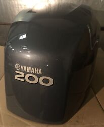 Yamaha 60l-42610-01 200 Hp Outboard Engine Hood Cover Cowling Cowl