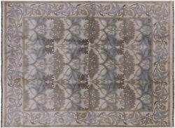 7and039 7 X 10and039 William Morris Handmade Wool Area Rug - W285