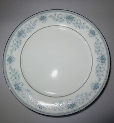 Noritake Blue Hill China Dinner Salad Bread And Butter Plates 19 Pieces