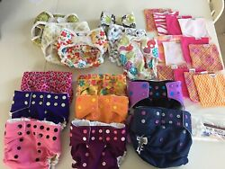 Cloth Diapers Mud Butt, Bummis Covers, Brown Cow