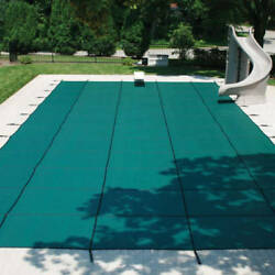 Blocmesh™ 99 Pool Cover Includes Installation Hardware 30 Day Production Time