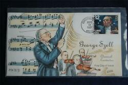 Classical Conductors George Szell Stamp Fdc Handpainted Collinsx2703 Sc3160