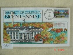 District Of Columbia Bicentennial 29c Stamp Fdc Hp Collinsp1901 Sc2561