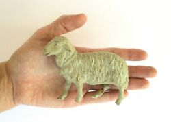 Antique Phoenix Toy Rattle Whistle Sheep Rubber Toy