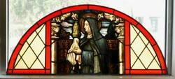 Mayer Of Munich St. Claire Of Assisi Church Stained Glass Window - Jj105