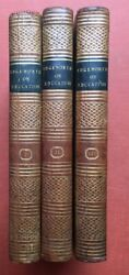 Maria Edgeworth R L. / Practical Education The Second Edition In 3 Volumes 1801