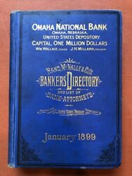 Banking / Rand Mcnally And Co.'s The Bankers' Directory And List Of Bank Attorneys