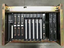 Allen Bradley 1771-a3b 12 Slot I/o Chassis With 12 Modules Free Shipping L-14