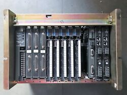 Allen Bradley 1771-a3b 12 Slot I/o Chassis With 12 Modules Free Shipping L-13