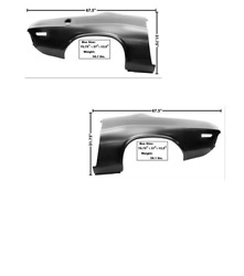 Dodge Challenger Complete Quarter Panel Oe Style Set Left And Right 1970-1971