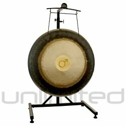 32 - 36 Meinl Planetary Tuned Gongs On Meinl Metal Stand
