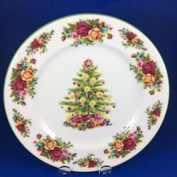 Royal Albert Old Country Roses Holiday Classic Collection Bone China Salad Plate